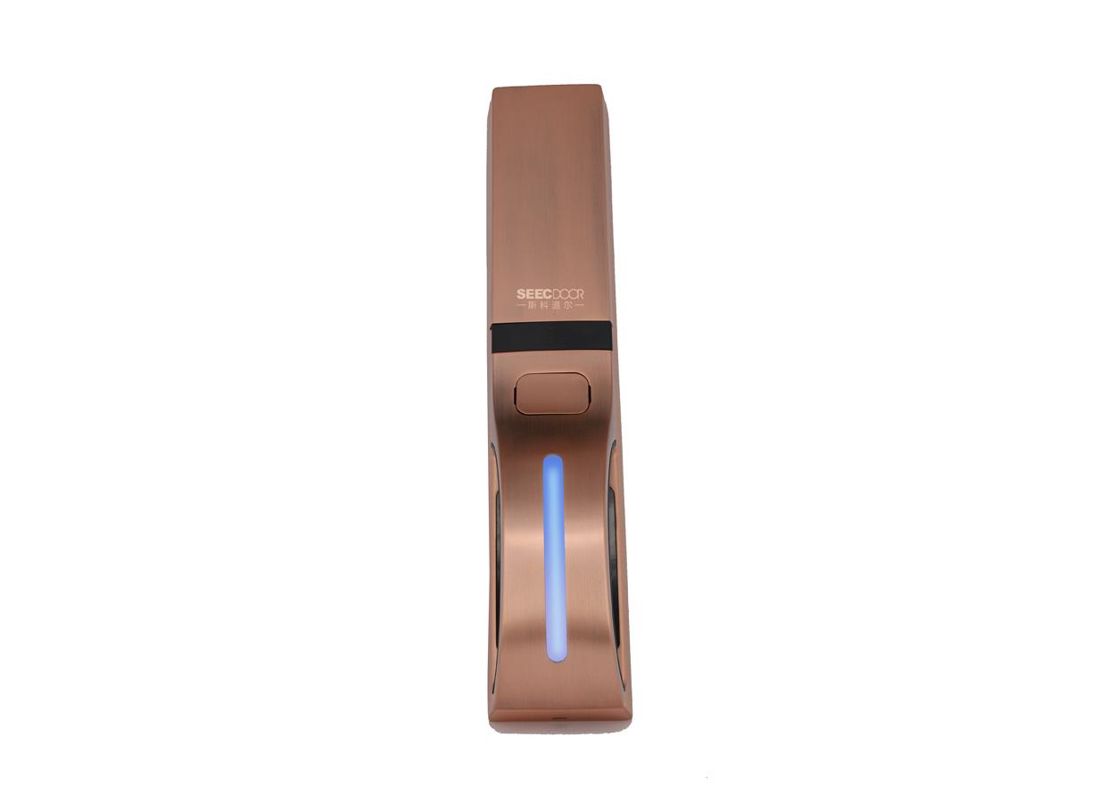 全自动指纹锁(SKD-LK-ZW2802)