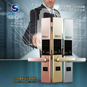 半自动指纹锁(SKD-LK-ZW1802)